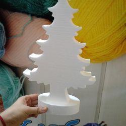 Pom de Crăciun spumă de 30 cm