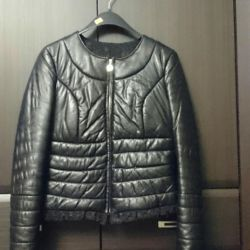 New women's leather jacket on synt. R-p42-44.s-m