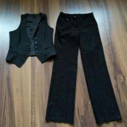 Suit: vest + pants