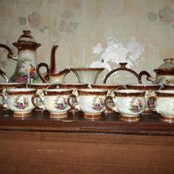 Τσάι, υπηρεσία καφέ