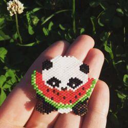 Brooch panda