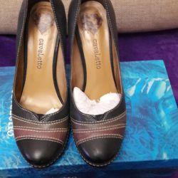 Γυναικεία παπούτσια γνήσιο δέρμα.