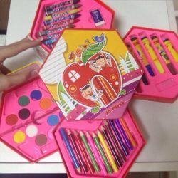 Children's coloring set