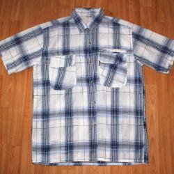 Ανδρικά κοντό μανίκι πουκάμισο 52-54