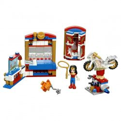 Lego Super Hero κορίτσια σπίτι θαυμάσια γυναίκα. Νέα