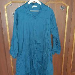 Φόρεμα πουκάμισο Boho