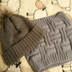 knitted women's hat