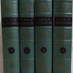 Лермонтов - Собрание сочинений в 4 томах.
