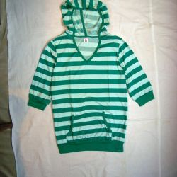 T-shirt n 46 Hooded Cotton New