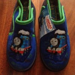Shoes for boy Thomas and his new friends