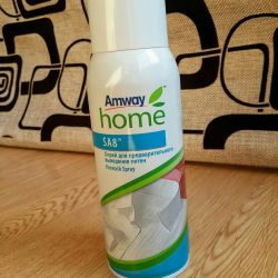 spray from the spots Amway Amway