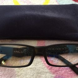 New computer glasses with a case