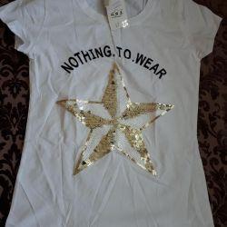 T-shirt for women 44 size.
