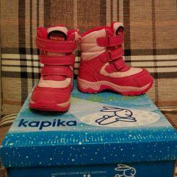 Winter membrane boots