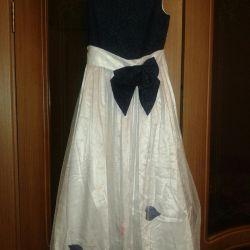 Κομψό φόρεμα, φούστα μήκους-76 cm