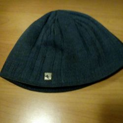 Hat 56 sizes. Shallow, gray.