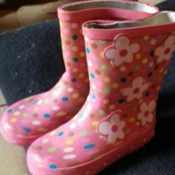 Rubber Boots for a girl