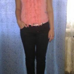 Capri pants + blouse