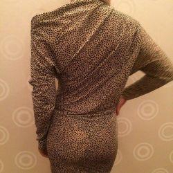 Φόρεμα λεοπάρδαλη Adele Fado Ιταλία