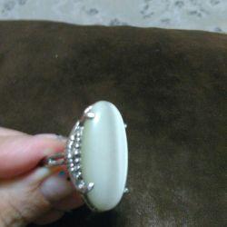 Δαχτυλίδι Moonstone