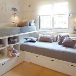 Αρχικό κρεβάτι για ενήλικα παιδιά