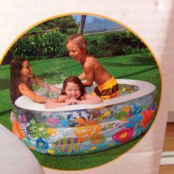 Pool big inflatable children's Inteks