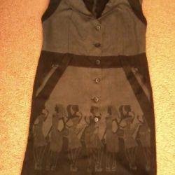soții. rochie-sarafan, folosit