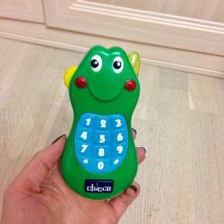 Children's telephone, Chicco children's toys