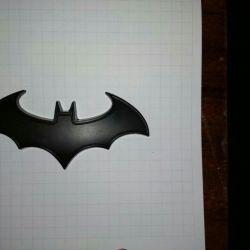 Значок на машину Бетмен