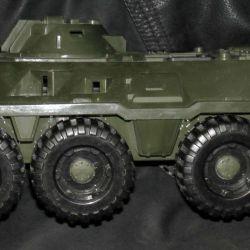 Toy BTR (used, plastic, 37x15 cm)