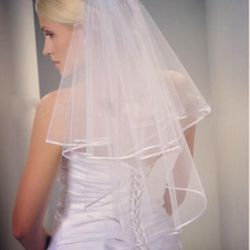 Ivory Wedding Veil New