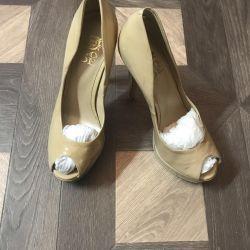 Νέα παπούτσια, Ιταλία, p37 βερνίκι, δέρμα.
