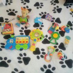 Пакетом,, детские игрушки