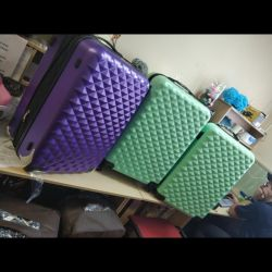 New shockproof suitcases ABS plastic 11 colors