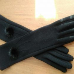 Gloves to elbow