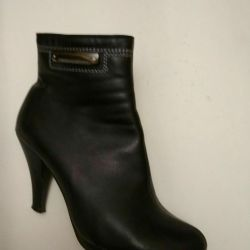 Ankle boots autumn leather deputy 36