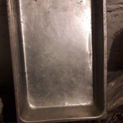 Лоток алюминиевый