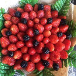 Μπουκέτο φράουλες