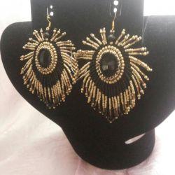 Swarovski Bead Earrings