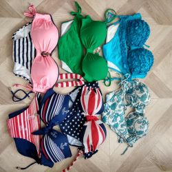 Many swimsuits