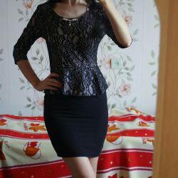 Новое платье с баской 👗