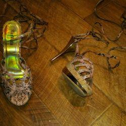 Muhteşem sandaletler