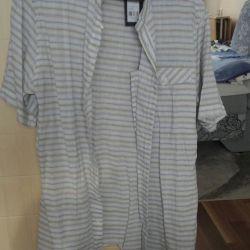 Новая летняя мужская одежда из льна