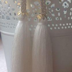 Earrings brushes New
