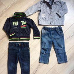 Lucruri pentru băiat de mărimea 80-92