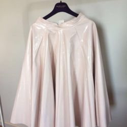 Skirt lacquer Zara, river XS / S new, color dusty pink