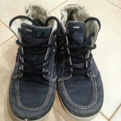 Jeans moccasins