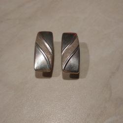 Gümüş küpeler, karanfil