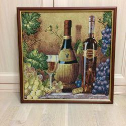 Tapestry painting Still life 50 * 50.5