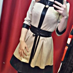 Dress new, suede)